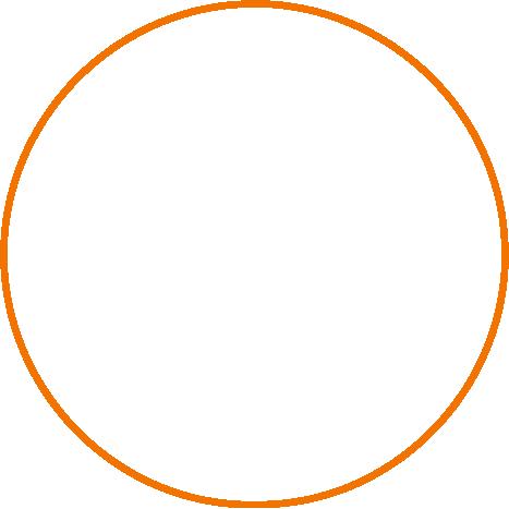 orange outline
